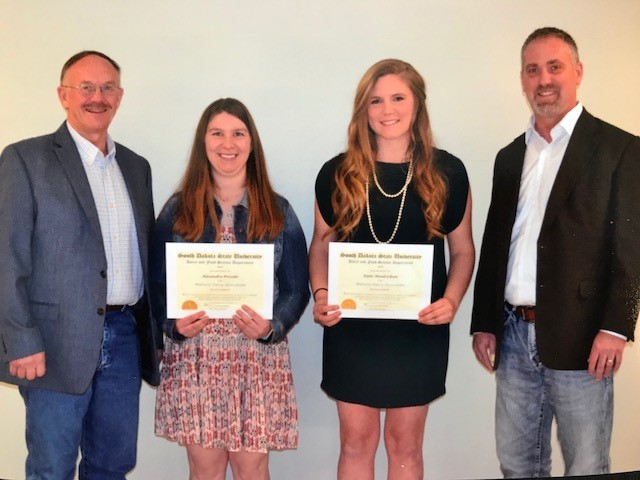 SDSU Dairy Science Scholarship Recipients